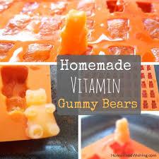 make your own gummy bears vitamin gummy bears healthy snack ideas