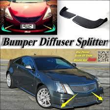 cadillac cts bumper aliexpress com buy car splitter diffuser bumper canard lip for