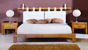 Schlafzimmer Antik Futon Bambusbett Kollketion Afrika Exotischer Leben Ihr