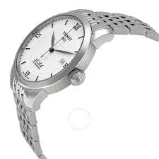 tissot t classic le locle silver dial stainless steel men u0027s watch