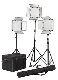 led studio lighting kit high brightness 3 light led studio lighting kit for video room