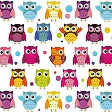 best wrapping paper happy owl birthday wrapping paper 6 ft roll by best