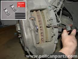 porsche boxster brake pad replacement 986 987 1997 08