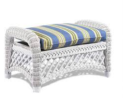 Cushion Ottoman Wicker Ottoman Cushion