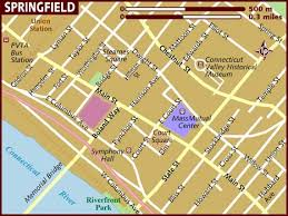 springfield map map of springfield