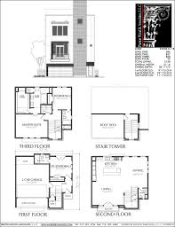 townhouse plan townhouse plan e3058 a1 1 house plans pinterest townhouse