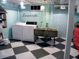 Cool Basement Ideas Basement Laundry Room Makeover Ideas Neutral X Rend Stunning