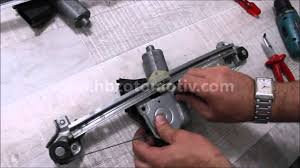 opel astra window regulator repair kit youtube