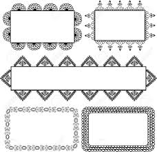 henna banner design royalty free cliparts vectors and stock