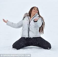 Seeking Stain Cast Geordie Shore S Takes A Tumble On The In Tignes Daily