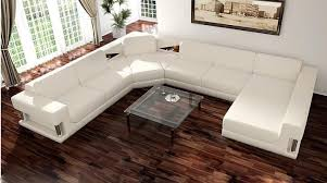 White Sectional Sofa by Divani Casa 2315 Modern White Sectional Sofa Set