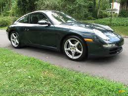 porsche 911 dark green 2005 porsche 911 carrera coupe in dark teal metallic photo 8