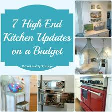 ideas to update kitchen cabinets 7 high end kitchen on a budget ideas at eclectically vintage