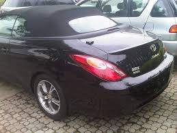 convertible toyota toyota solara 2005 model convertible for sale autos nigeria
