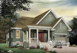 bungalow house plans with front porch plan of the week bungalow with inviting front porch drummond