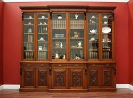antique bookcase give a decorative touch home design by john