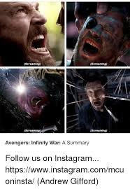 Avengers Meme - screaming screaming screaming screaming avengers infinity war a