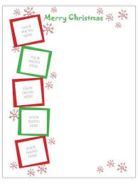 christmas letter template ipad business template