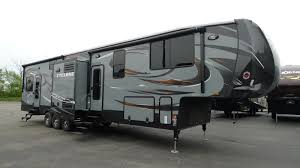 2016 cyclone cy 4114 14 foot garage toy hauler fifth wheel rv