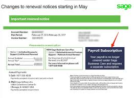 sage 100 payroll subscriptions live for renewals may 1 2016
