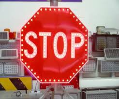 stop sign with led lights new design solar traffic stop sign china mainland traffic signal