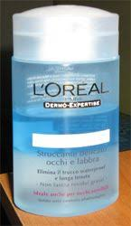 l oreal gentle lip eye makeup remover