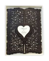 personalized guest book laser cut heart shaped personalized guest book alawwa العو ا
