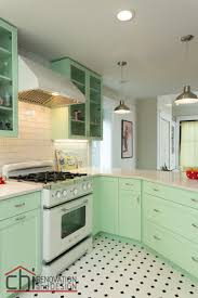 this retro kitchen makeover feels like the world u0027s happiest diner