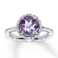 amethyst diamond rings images Amethyst engagement rings amethyst engagement ring wedding jpg