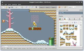 platform game with level editor rvlution reggie level editor