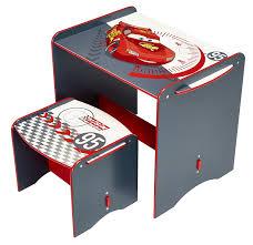 bureau cars disney disney cars desk and stool by hellohome amazon co uk
