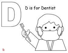 cute dental health month coloring pages coloring