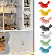 pomelli per cucina accessori per mobili uccello pomelli in ceramica porta cassettiera