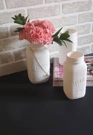 Mason Jar Vases Diy Painted Mason Jars With Multiple Uses
