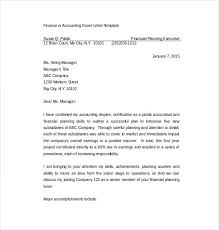 sample cover letter for financial accountant internship