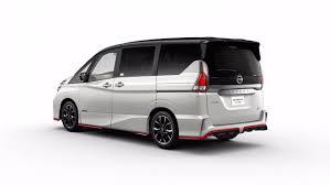 nissan minivan 2018 nissan serena minivan gets a nismo sport package for tokyo