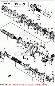 suzuki lt230e 1987 h transmission schematic partsfiche