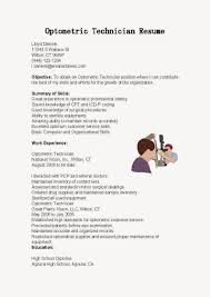 Best Information Technology Resume Templates by Best Optometric Technician Resume Samples Samplebusinessresume