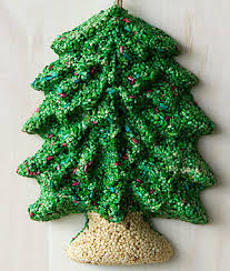 Bird Seed Decorations For Christmas Tree merry christmas tree seed wreath gardening gifts holiday