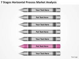 horizontal process market analysis ppt real estate investing