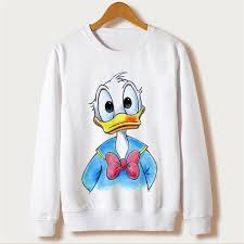 funny disney donald duck kids children gift boys girls hoodies