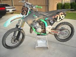 motocross bike carrier 1999 pc kx 125 restore bike builds motocross forums message