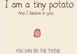 Meme Potato - going to tahiti productions tiny potato meme