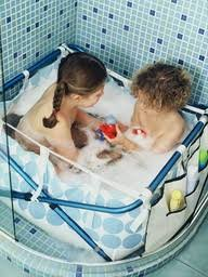 Toddler Bathtub For Shower Toddler Baths To Go About Town