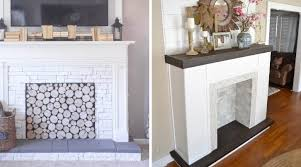 How To Make Fake Fireplace by How To Make A Faux Fireplace Hirerush Blog
