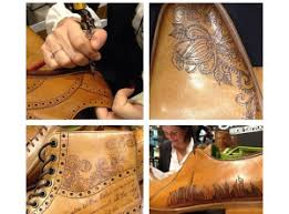 leather love tattooed leather shoes inkspiration