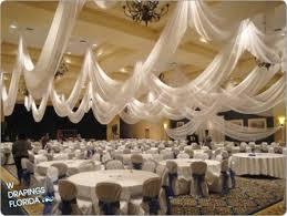 wedding ceiling draping w drapings florida ceiling drapings and wedding chiffon custom