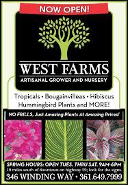 native plant nursery victoria visit west farms artisanal grower u0026 nursery for unique plants at