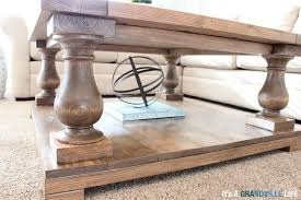 it u0027s a grandville life diy balustrade coffee table