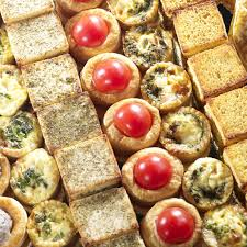 canap sal buffet salé canapé mignardises mini pan bagnat verrine lyon